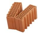 Поризованный керамический доборный блок Porotherm 38 ½