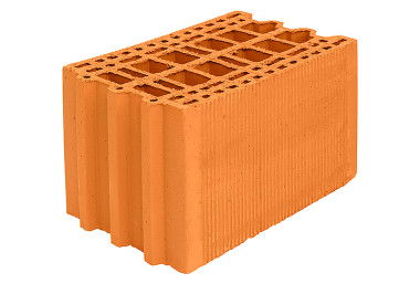 Поризованный керамический блок Porotherm 25