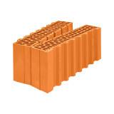 Поризованный керамический доборный блок Porotherm 51 ½