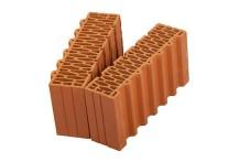 Поризованный керамический доборный блок Porotherm 44 ½