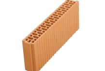 Поризованный керамический блок Porotherm 8