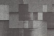 Гибкая черепица Tegola, серия Альпин, цвет Черный с отливом
