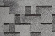 Гибкая черепица Tegola, серия Альпин, цвет Серый с отливом