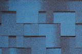 Гибкая черепица Tegola, серия Альпин, цвет Синий с отливом