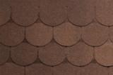 Гибкая черепица Tegola, серия Антик, цвет Коричневый с отливом