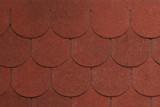 Гибкая черепица Tegola, серия Антик, цвет Красный с отливом