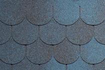 Гибкая черепица Tegola, серия Антик, цвет Синий с отливом