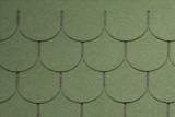 Гибкая черепица Tegola, серия Антик, цвет Зеленый