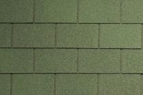 Гибкая черепица Tegola, серия Классик, цвет Зеленый с отливом