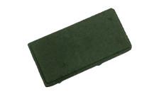 Брусчатка вибропрессованная «Кирпич», зеленый