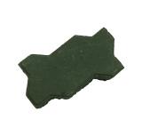 """Брусчатка вибролитьевая """"Волна"""", зеленый"""
