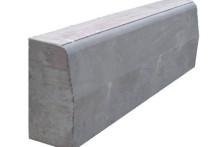 Бордюрный камень вибропрессованный 1000х300х150 мм, серый