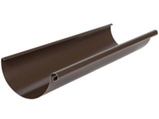Желоб водосточный 3 м, 125/90 AQUASYSTEM, цвет RAL 8017 шоколад