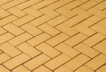 Брусчатка клинкерная «Экоклинкер» песочный