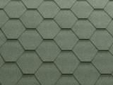 Гибкая черепица KATEPAL коллекция Classic KL, цвет Зеленый