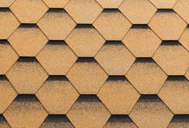 Гибкая черепица KATEPAL коллекция KATRILLI, цвет Золотой песок