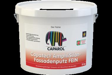 Готовая к применению мелкая штукатурка на дисперсионной основе со связующим на основе силиконовой смолы  для наружних работ AmphiSilan-Fassadenputz FEIN