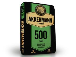 Цемент Akkerman ЦЕМI II/В-Ш 42.5Н, 50 кг