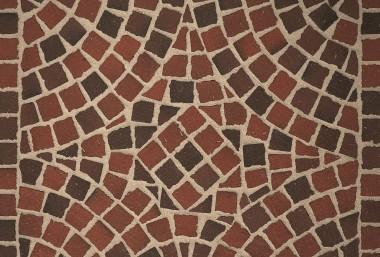 "Тротуарная клинкерная мозаика Feldhaus Klinker ""Gala flamea"" 403"