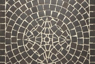 "Тротуарная клинкерная мозаика Feldhaus Klinker ""Umbra ferrum"" 609"