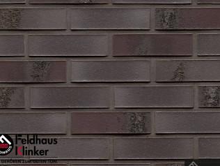 Клинкерная плитка Feldhaus Klinker  Carbona  R565 geo ferrum