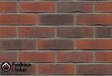 Клинкерная плитка – состаренная поверхность ручная формовка Feldhaus Vascu R743 carmesi flores