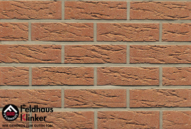 Клинкерная плитка Feldhaus Klinker   Classic R 214 Bronze mana