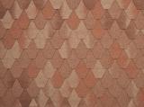 Гибкая черепица Tegola, серия Лемех, цвет Красный Европа