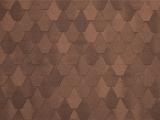 Гибкая черепица Tegola, серия Лемех, цвет Коричневый с отливом